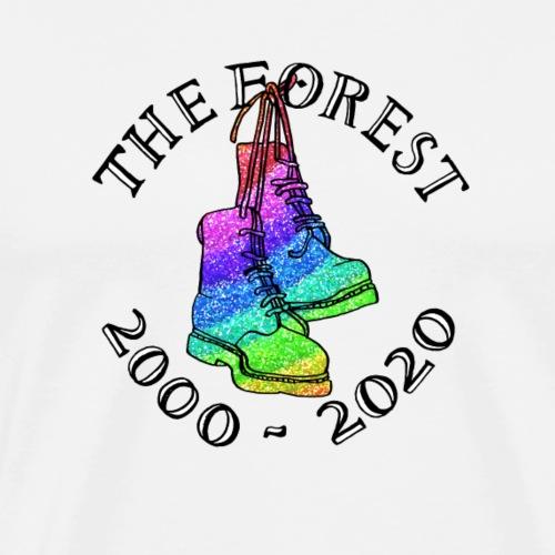 Forest 20 Ewans Boots 2 - Men's Premium T-Shirt