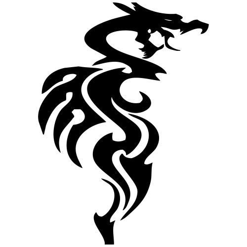 spirit dragon - Männer Premium T-Shirt