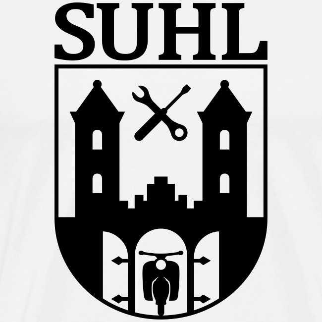 Simson Suhl coat of arms with text
