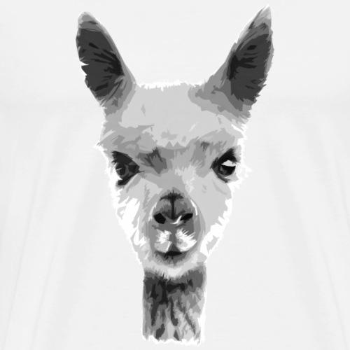 alpaca - Maglietta Premium da uomo