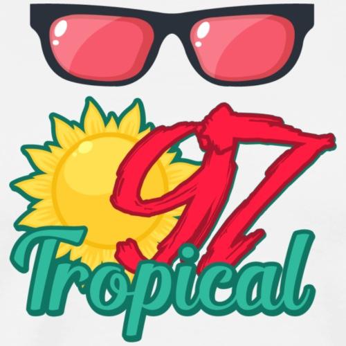 97 TROPICAL - T-shirt Premium Homme