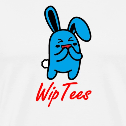 WipTees Bunny - Men's Premium T-Shirt