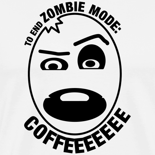 to_end_zombie_mode - T-shirt Premium Homme