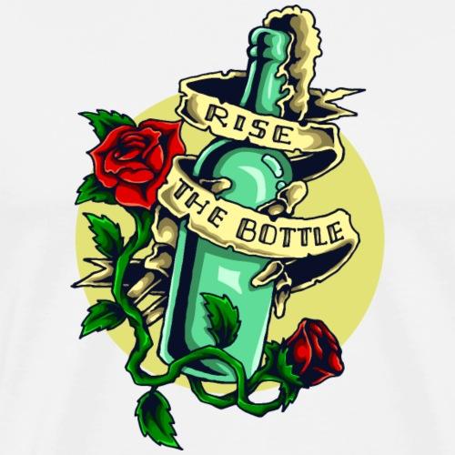 Eine Flasche Alkohol - Männer Premium T-Shirt