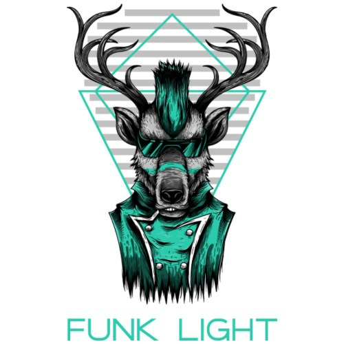 Funk Light - Männer Premium T-Shirt