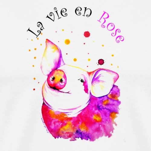 Cochon, porcinet la vie en rose