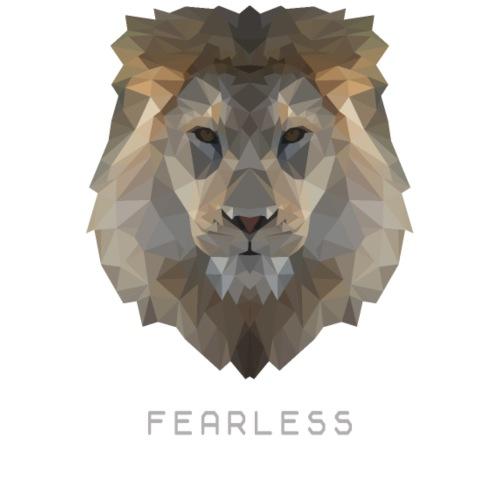 Lion Fearless - Männer Premium T-Shirt