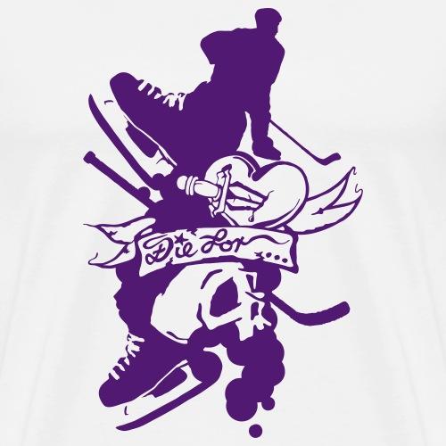 die_for_hockey - Männer Premium T-Shirt