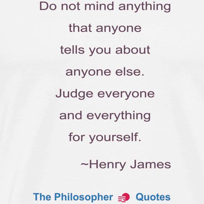 Henry James Judging Philosopher b