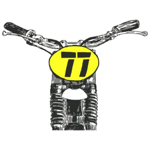 Oldschool Motocross - Männer Premium T-Shirt
