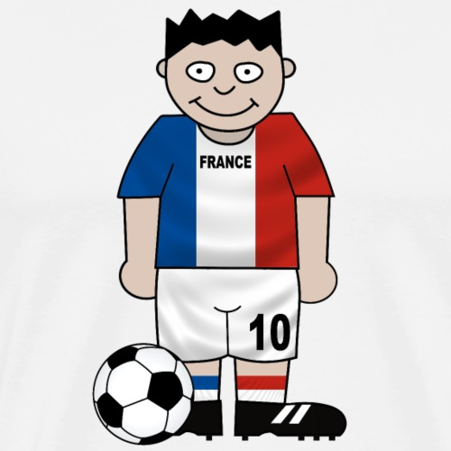 Football France enfants - Men's Premium T-Shirt