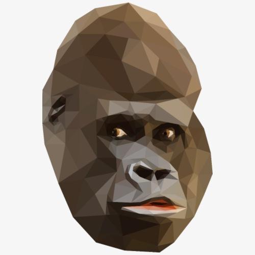 Polygon Gorilla - Koszulka męska Premium