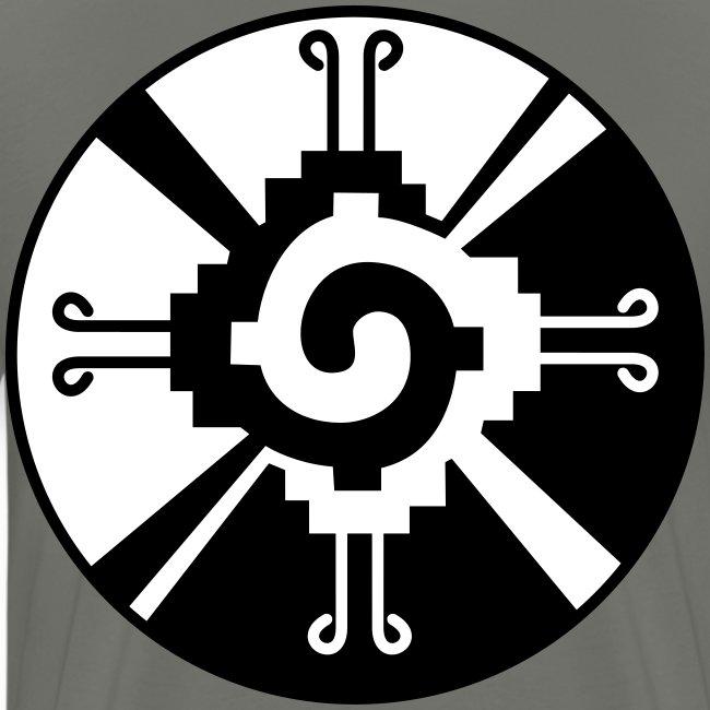 Hunab Ku Galactic Butterfly Mayan Symbol
