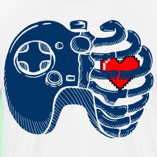 Costilla Gamers - Camiseta premium hombre