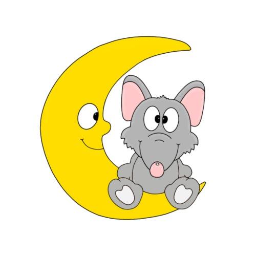 Lustige Ratte - Mond - Kind - Baby - Tier - Fun - Männer Premium T-Shirt