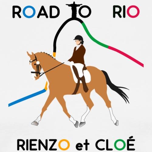 Tout doux la peluche Rienzo et Cloé ! - T-shirt Premium Homme