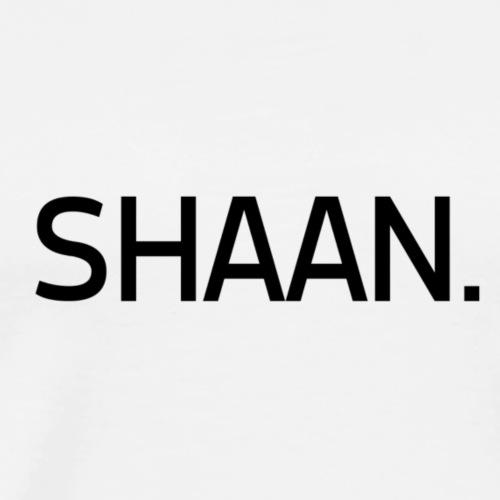 Shanice van de Sanden | Black - Mannen Premium T-shirt
