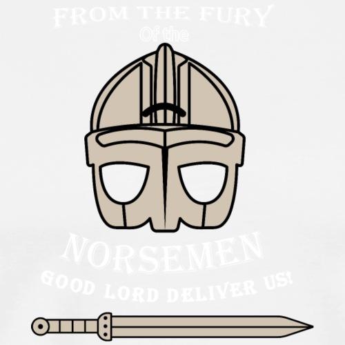 Fury of the Norsemen - Premium-T-shirt herr