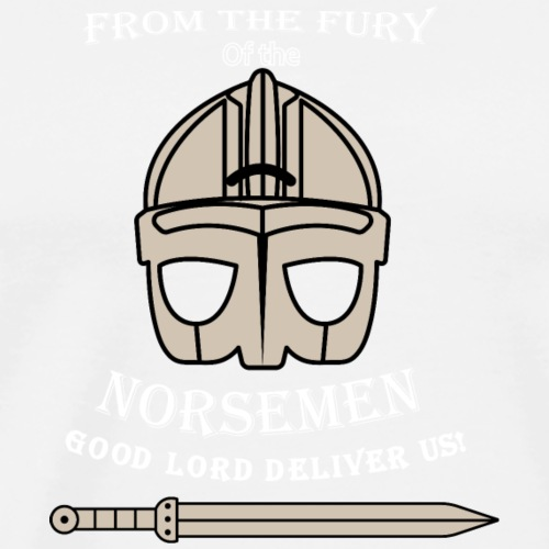 Fury of the Norsemen - Premium-T-shirt herr