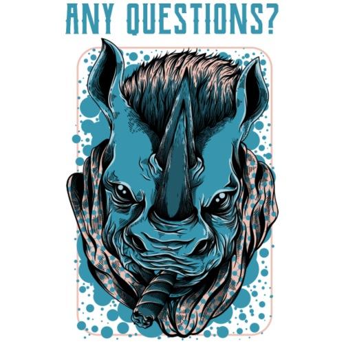 any questions - Männer Premium T-Shirt