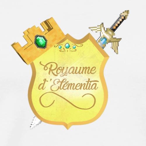 Logo du Royaume d'Elémentia - T-shirt Premium Homme