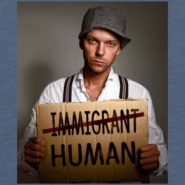 Immigrants are human