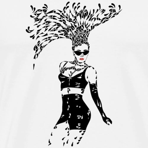 Sparkling Woman - Mannen Premium T-shirt