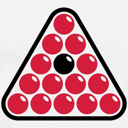 Billard Triangle - Personnalisable - T-shirt Premium Homme