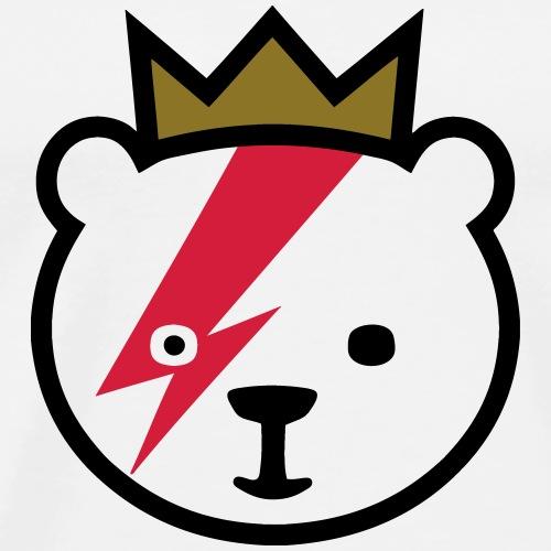 Bowie-Bär in Berlin - Maglietta Premium da uomo