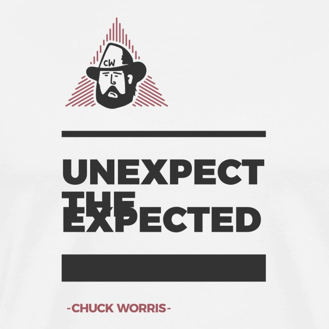 EXPECT THE UNEXPECTED - CHUCK WORRIS