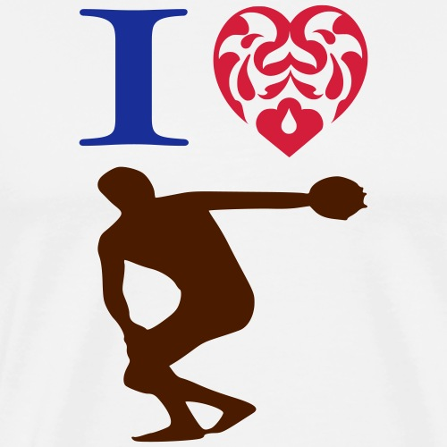 Bowls 2 Games I Love - Men's Premium T-Shirt