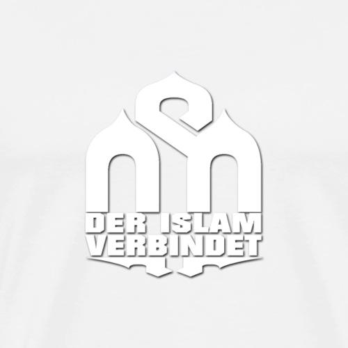 Der Islam verbindet - Street - Männer Premium T-Shirt