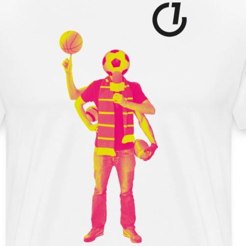 OLDENBURG EINS - Ballmensch - Männer Premium T-Shirt