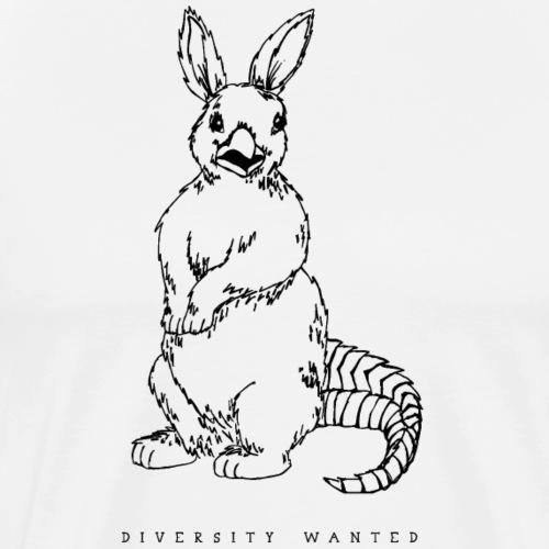 Krokrähninchen - Männer Premium T-Shirt