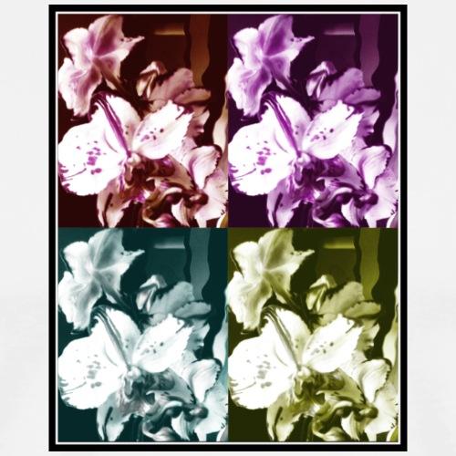 Orchidee - Maglietta Premium da uomo