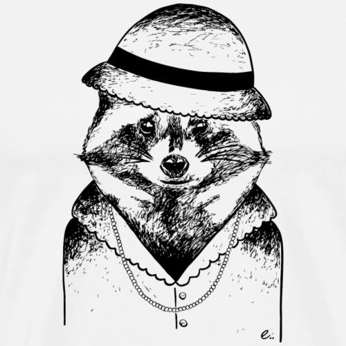 Raton laveur Vintage - T-shirt Premium Homme