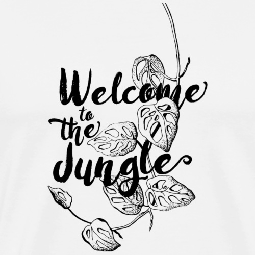 Jungle Black - Männer Premium T-Shirt