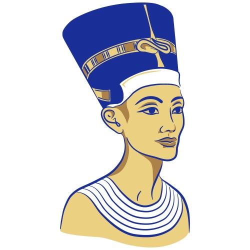 Nefertiti - Nofretete - Die Schöne - Männer Premium T-Shirt
