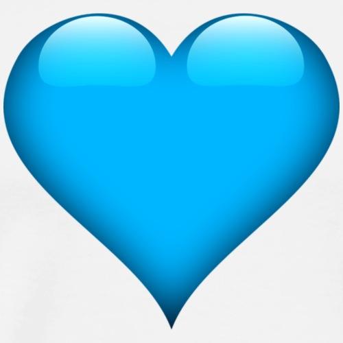 Herz Hellblau
