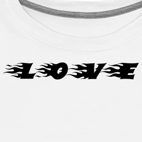 Quotees UF - Love - Premium-T-shirt herr
