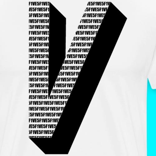 FIVES big V - T-shirt Premium Homme
