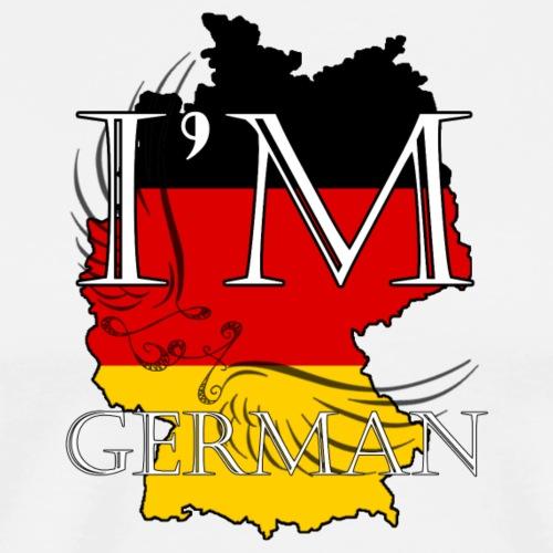 I am German - Maglietta Premium da uomo