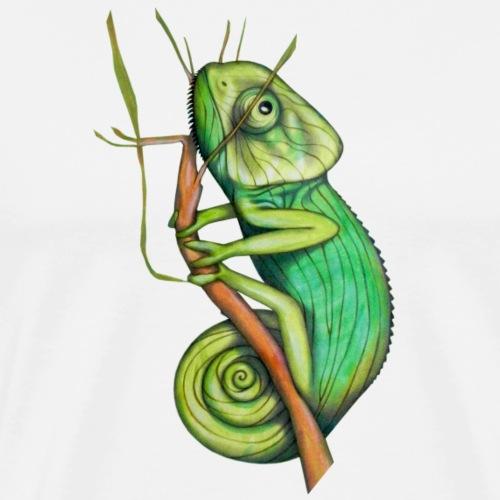 green chameleon - Maglietta Premium da uomo