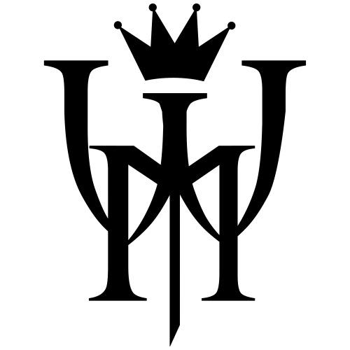 Logo MW Czarne - Koszulka męska Premium