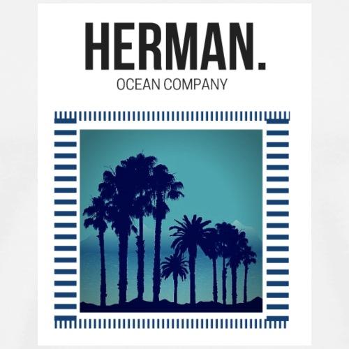 HERMAN OCEAN BLUE - Camiseta premium hombre