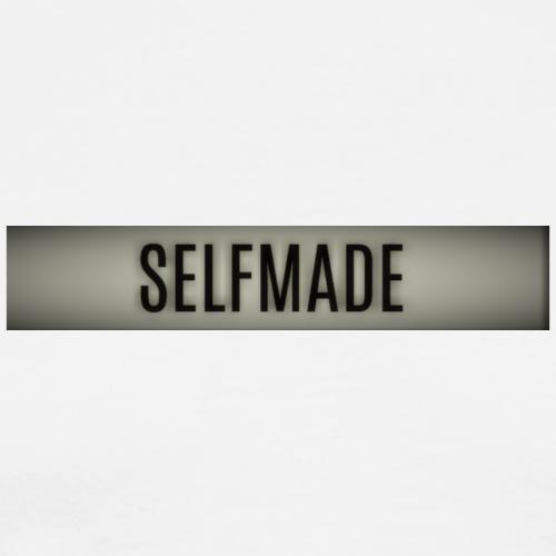 Selfmade Logo weiss - Männer Premium T-Shirt