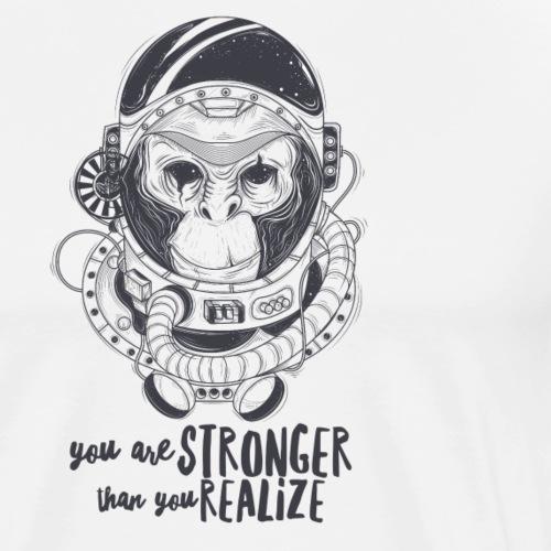 you are stronger - Männer Premium T-Shirt
