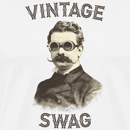 Vintage Swag - T-shirt Premium Homme