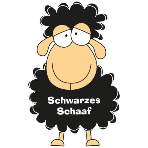 Schwarzes Schaaf - Männer Premium T-Shirt