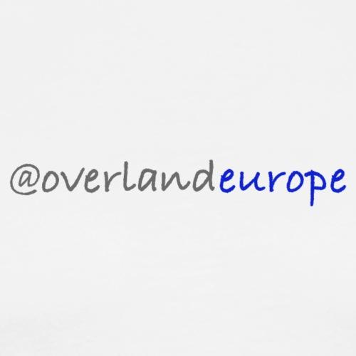 Overland Europe - Männer Premium T-Shirt